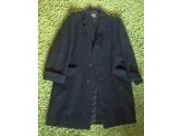 Men's Vintage Wool Coat