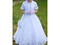 First Communion Dress & Accessories
