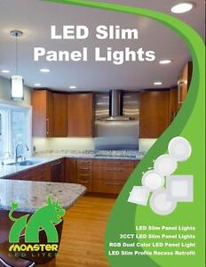 4'' Slim panel/pot light 9W=50W cUL certified ***SAVon Energy Coupons!! for Walk ins starting April 1 !!**
