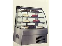 DISPLAY CABINET, (PATISSERIE), ZURICH 11 RANGE, STAINLESS STEEL, AS GOOD AS NEW, 6 MONTHS OLD