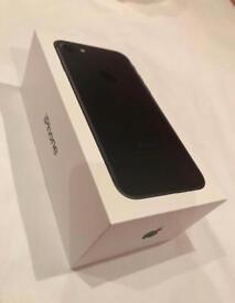*** Apple iPhone 7, 32Gb, New, Factory Unlocked, Unused, Black ***