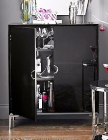 Next bellagio black gloss cabinet