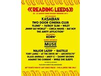 Reading festival tickets