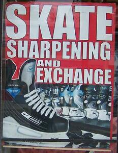 Skate Sharpening in St.Thomas