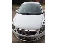 Vauxhall Corsa 09 1.2 SXI, 1 owner (me)