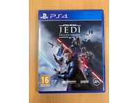 Star Wars Jedi Fallen Order - Sony Playstation 4 PS4 Video Game - Action Adventure Sci-Fi - Like New