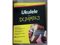 """""""Ukelele for Dummies"""" book (incl. CD)"""