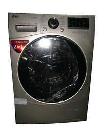 LG FH4A8TDH4N Silver Washer Dryer 8kg/5kg, 1400 rpm, Energy Rating A