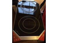 Portable induction 2 ring hob