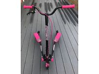 Sporter 2 Pink / Black Scooter - Mint condition - Like New - Used once