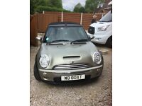 Mini Cooper S sidewalk convertible 1.6