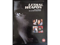 DVD Boxset: Lethal Weapon 1, 2, 3 and 4