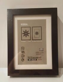 Black Ikea Ribba Photo Frames x 2