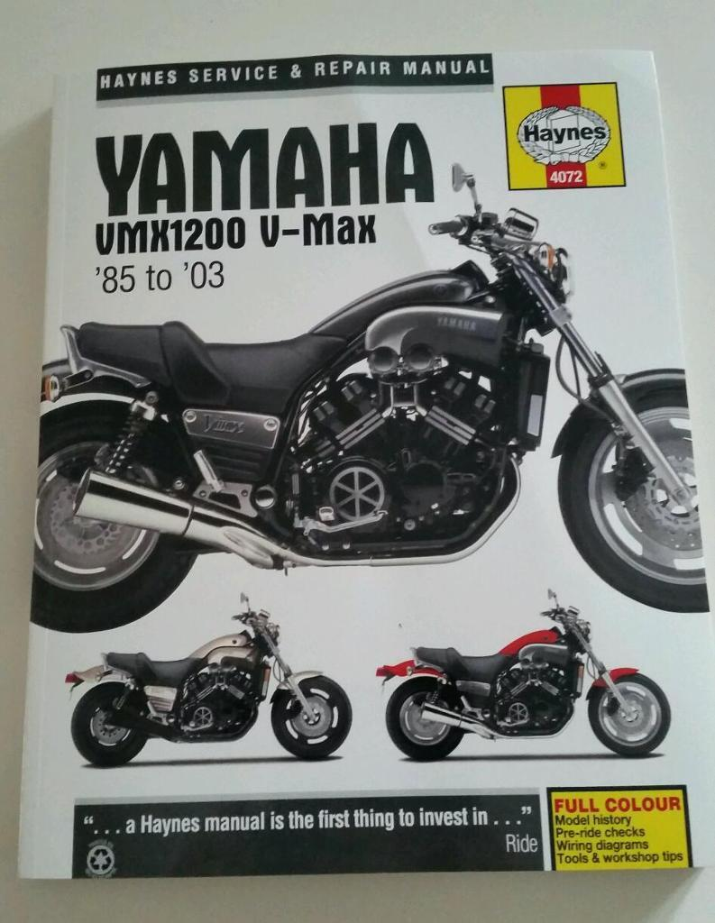 yamaha vmax 1200 workshop manual in sandwell west. Black Bedroom Furniture Sets. Home Design Ideas