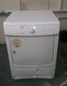 FREE DELIVERY Zanussi 7KG condenser tumble dryer WARRANTY