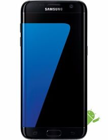 Samsung Galaxy S7 Edge in Black Onyx, new boxed and unopened water-resistant phone