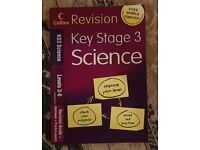 Collins Revision Key Stage 3 Science Revision Guide + Workbook + Practice Papers