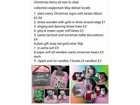 New christmas items cheap