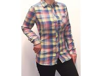 Ladies full sleeve fancy funnel shirt (Available Quantity: 165)