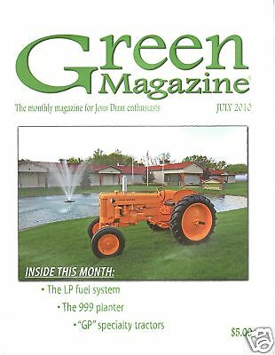 John Deere GP Tractor GPWT GPO - No. 999 planter, LP Carburetor