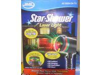JML LED Star Shower with light sensor Projector Light System