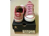 Pink Suede CONVERSE, Size 3