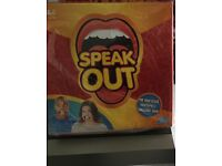 SPEAK OUT GAME !! OUT OFF STOCK IN ARGOS . THE LATEST GAME CRAZE FOR CHRISTMAS DONT MISS OUT!!!!!!