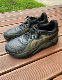 Puma RS-X Winterized Men's Trainers - Black Burnt Olive