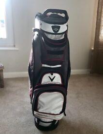 Callaway golf cart bag - SOLD