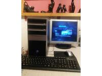Gaming Starter PC, Intel Quad core, 8gig Ram , 500g HDD, Nvidia GTX460 Graphics Hdmi Win7