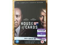 House of Cards Season 4 DVD - new (shrink-wrapped)
