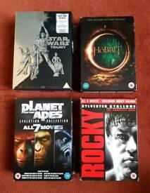 DVD Boxsets, pick up from rochdale near spotland, £5 each.