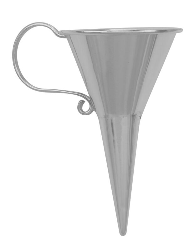 Perfume Funnel - Large - Sterling Silver