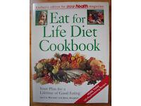 VINTAGE COOKERY:Vintage 1992 paperback Eat for Life Diet Cook Book/Janette Marshall & Anne Heughan.