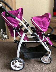 Britax Dolls Twin Pram