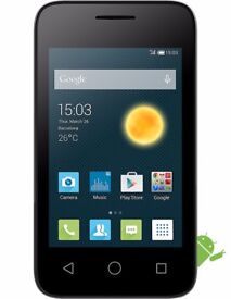 "Unlocked- Alcatel Pixi 3 - 3.5"" -Android 4.4 new"