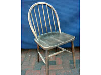 50's or 60's Spindleback Country Kitchen Dining Chair fantastic patina