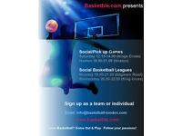 Love Basketball? Come Out & Play. Follow your Passions!