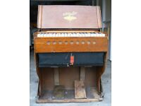 Vintage Bilhorn Telescope Folding Organ / Harmonium Possibly 100 Years Old