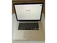 Apple MacBook Pro Retina 15 inch - i7 2.2Ghz, 16GB RAM, 250GB SSD (Mid 2015, Silver)