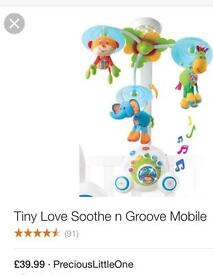 Tiny love mobile