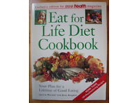 VINTAGE COOKERY:Vintage 1992 paperback Eat for Life Diet Cook Book/Janette Marshall & Anne Heughan.
