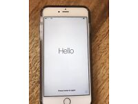 Apple Iphone 6s 128gb Silver Unlocked Cheap Bargain Excellent Condition 8 Months Apple Warranty