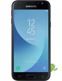 Samsung Galaxy J3 2017 Black Simfree / Unlocked 16GB Brand New