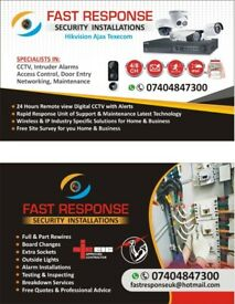 Fast Response Electrician And CCTV Installations West Yorkshire