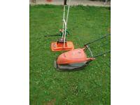 Lawn mower hedge cutter