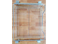 Hafele Pull-Out Wire Basket With Runners, For 600 mm Cabinet Width