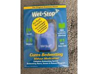 Wet-Stop (complete bed wetting system)