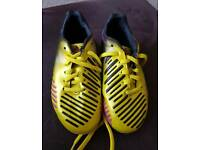Kids Adidas football boots infant 10