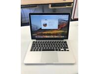 "MacBook Pro Retina 13"" late 2013 + 3 month warranty"